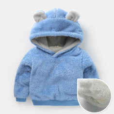 Fleece Thicken Sweatshirt For 2Y-9Y-US$33.
