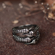 Vintage Adjustable Claw Rings -RM32.5