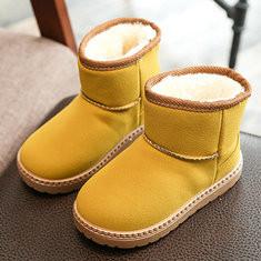 Boys Girls  Plush Lining Comfy Snow Boots