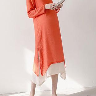 Long Sleeve Vintage Maternity Dresses -US$18.21