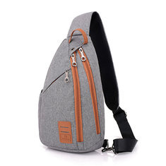 Canvas Sports Chest Bag Outdoor Crossbody Bag For Men-US$16.97