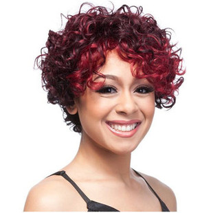 Short Curly Synthetic Wigs -US$25.99