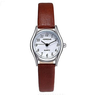 Fashion Quartz Wristwatch Small Round Di