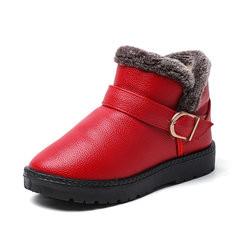 Unisex Kids Keep Warm Snow Boots