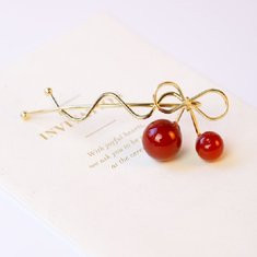 Sweet Cherry Hair Clip-US$6.52