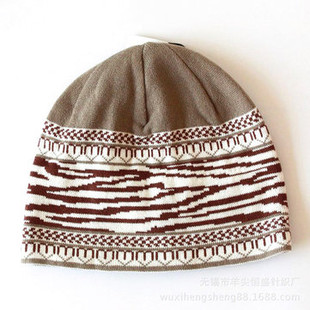 Mens Print Knit Hat -US$15.20