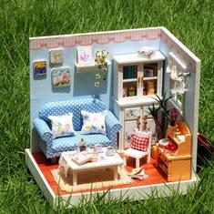 Happy Moment DIY Dollhouse-US$21.96