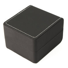 Punk Watch Box Black Clear Watch Case-US$10.44