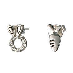 JASSY® 925 Silver Cute Ear Studs-US$15.83