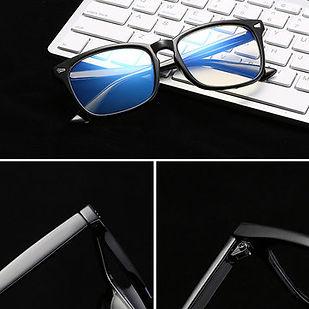 Anti-Fatigue Computer Mirror Eyeglasses Radiation Protection Blue Light Filter Men Woman - RM43.24