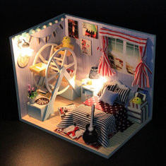 Childhood Memory Dollhouse-US$19.89