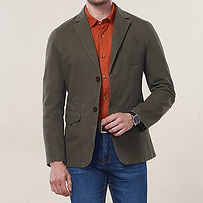 Outdoor Business Casual Solid Color Pockets Jackets Blazers for Men - RM274.29