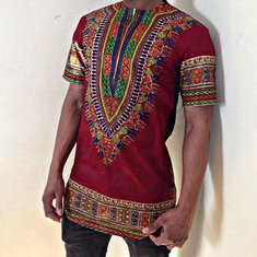 Plus Size African Ethnic Style 3D T Shirts-US$20.99