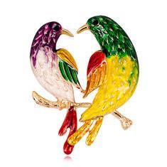 Sweet Unisex Birds Brooches-US$10.48