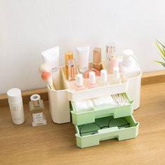 Desktop Cosmetic Compartment Box-US$5.86
