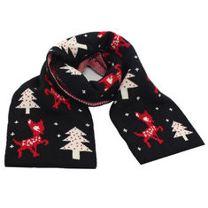 Christmas Style Kids Knit Scarves-US$13.00