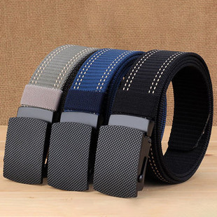 Mens Canvas Plate Belt -US$13.30