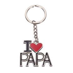 I Love Papa Keychain-US$5.93