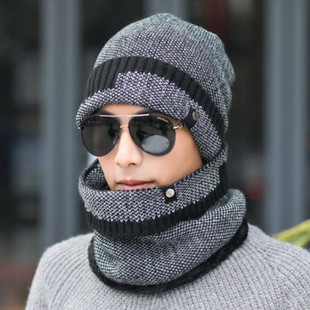 Outdoor Warm Beanie Scarf -US$14.45