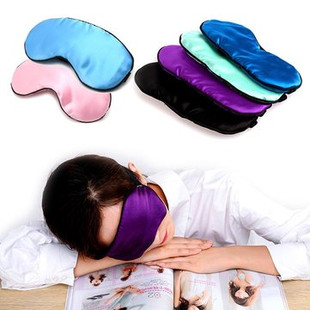 Natural Silk Breathable Sleeping Eye Mask Mul-US$10.24