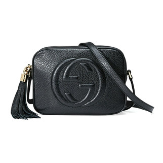 Gucci 308364 A7M0G 1000 Soho Small Leather Disco Bag, Black RM4,112.00