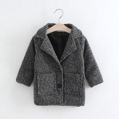Girls Woolen Winter Jacket For 2Y-9Y-US$107.11