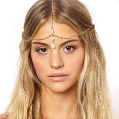 Fashion Opal Pendnat Headband-US$10.99