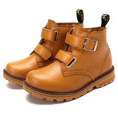 Youth Boys Waterproof Hook Loop Boots