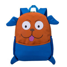 Kids Cute Animal Rubber Backpack Cartoon Schoolbag Retro Shoulder Bag-US$21.35