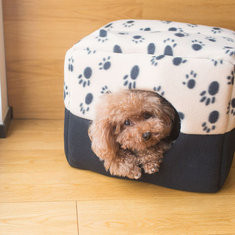 2 in 1 Paw Pattern Pet Sleeping Bed Kennel-US$15.99 ~ 24.99