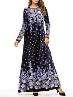 Vintage Velvet Maxi Dress -US$54.00