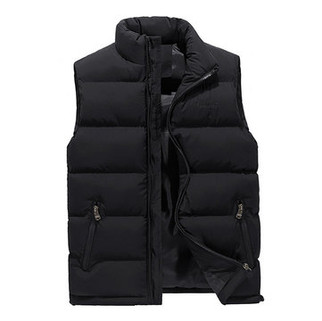 Solid Color Quilted Vest-US$22.39
