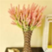 12 Heads Artificial Lavender Flower Bouquet Home Wedding Garden Décor -RM15.01