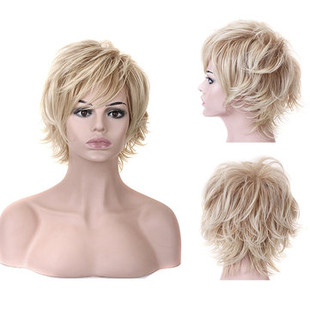 Stylish Highlight Synthetic Wig -US$26.17