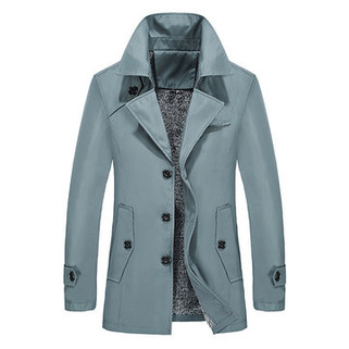 RM142.48-Winter Warm Thick Business Casual Trench Coat