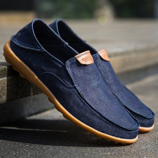 RM175.03 - Men Canvas Non-slip Soft Casual Shoes