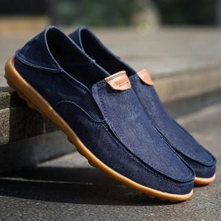 RM175.03 - Men Canvas Non-slip Soft Casual Shoes