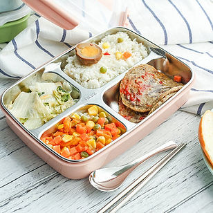 Large Capacity Rectangular Insulation Lunch Box Stainless Steel Food Storage Container - RM52.09