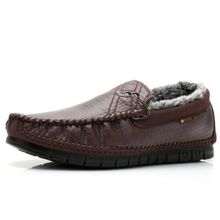 Men Warm Plush Lined Mocassion -US$37.45