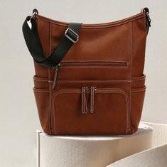 Women Multi-Pockets Casual Crossbody Bag-RM196.38