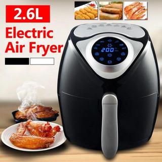 Alpha Living 1300W Digital Air Fryer Rapid Air Technology Timer Temperature Control Machine with Malaysia Plug (KEA0201) RM178.00