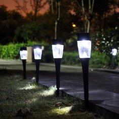Solar Powered Garden LED Light-US$4.40