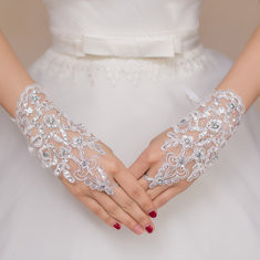 ride Lace Fingerless Gloves-RM28.67