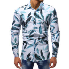 Print Single Breasted Long Sleeve Suit -US$25.26