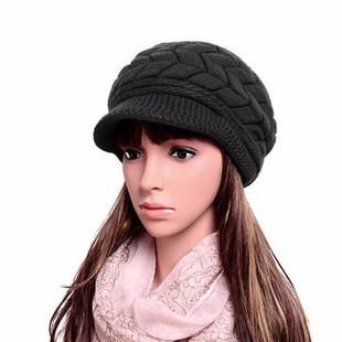 Women Thicken Knitted Beret Hat -RM41.41