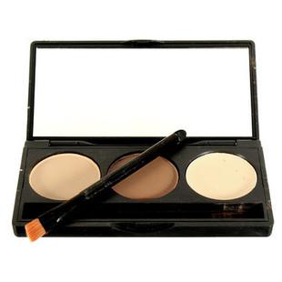 3 Colors Makeup Concealer Palette Face Faci-RM35.23