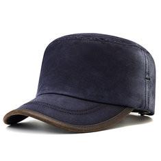 Men Denim Cotton Flat Cap-RM53.83