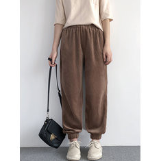 Loose Pockets Harem Pants-RM197.58