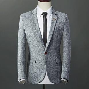 Mens Elegant Comfy Buttons Blazer -US$45.31
