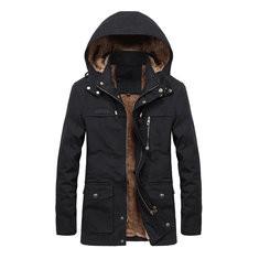 Plus Side Thicken Warm Windproof Jacket-RM 254.97